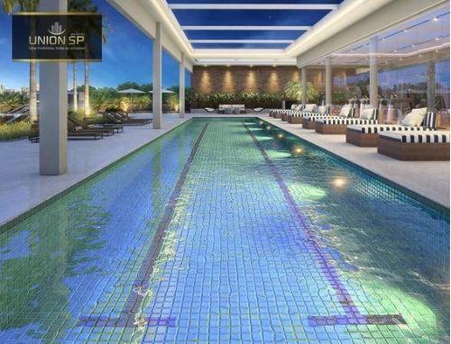 Apartamento Garden Com 3 Dormitórios À Venda, 158 M² Por R$ 2.534.572,00 - Vila Romana - São Paulo/sp - Gd0284