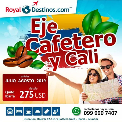 Tour Eje Cafetero Cali Colombia