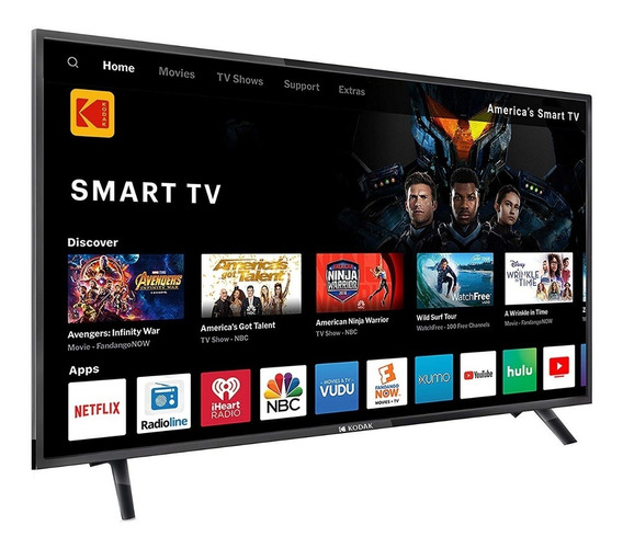 Smart Tv Led 65 4 K Kodak Netflix Youtube Full Hd Wifi Hdmi