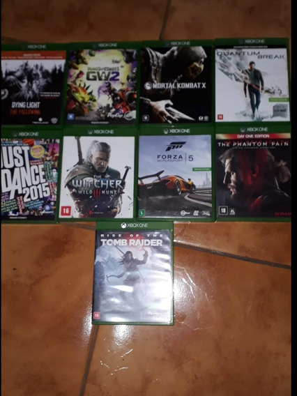 Jogos Semi-novos Xbox One Mídia Física
