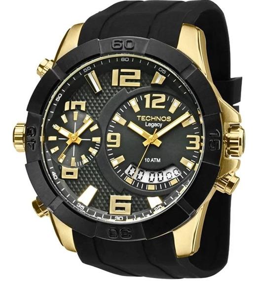 Relógio Masculino Technos Analógico T205fj8p Original +nf
