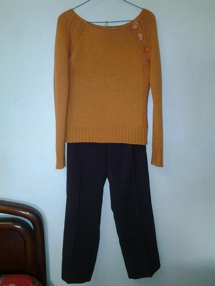 Conjunto Bershka De Sweter Y Pantalón
