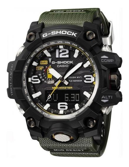 Relógio Casio G-shock Mudmaster Gwg-1000-1a3dr Tough Solar