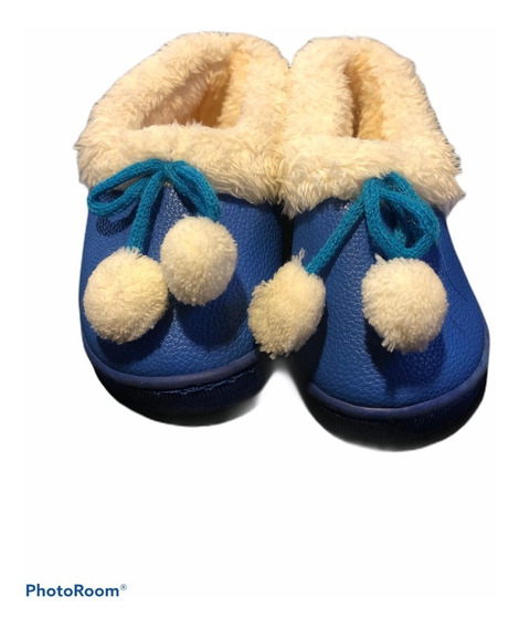 Zapatos Botas Niño Niña Invierno Piel Cerrados 24 25