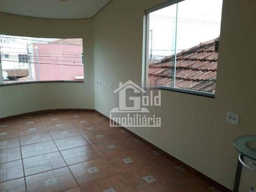 Casa Com 4 Dormitórios À Venda, 93 M² Por R$ 318.000,00 - Vila Tibério - Ribeirão Preto/sp - Ca1423