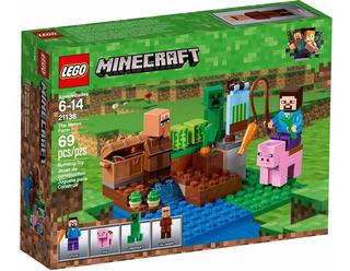 Lego Minecraft 21138 Y 21139 Nether Figth The Melon Farm