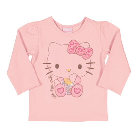 Blusa Infantil Menina Hello Kitty Original 0850.87106