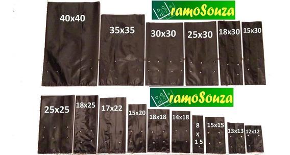 Saquinhos Mudas 1000 Sacos 25x25
