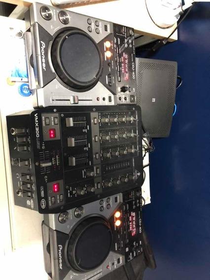 Cdj 400 Com Mixer Behringuer Vmx 300 Usb