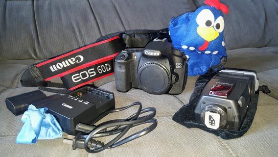 Canon Eos 60d C/ 3k Cliques. Raridade. Ótimo Estado. Bônus!