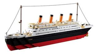 Barco Titanic Bloques De Construcción Para Armar Sluban