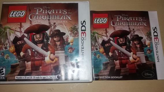 Caixa + Encarte + Manual Do Jogo Lego Piratas Do Caribe R$25