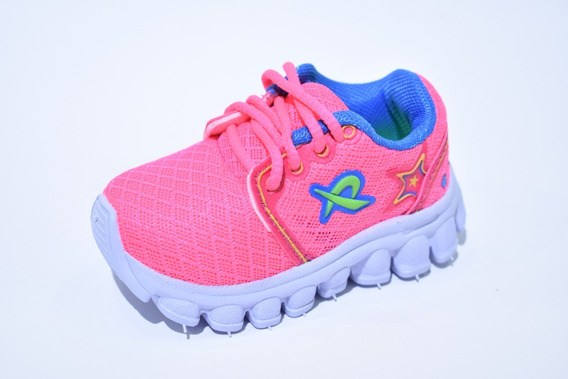 Zapatillas Para Nenas Livianas Rosas