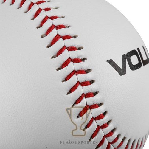 Bola De Baseball Beisebol Oficial Branca Miolo Cortiça