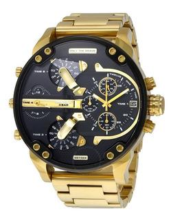 Reloj Diesel Mr Daddy Dz7333 Gold - Entrega Inmediata