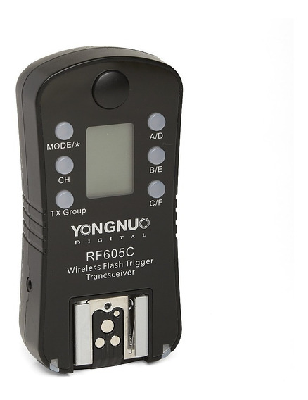 Radio Flash Yongnuo Unitario Rf605c P/ Canon Dslr