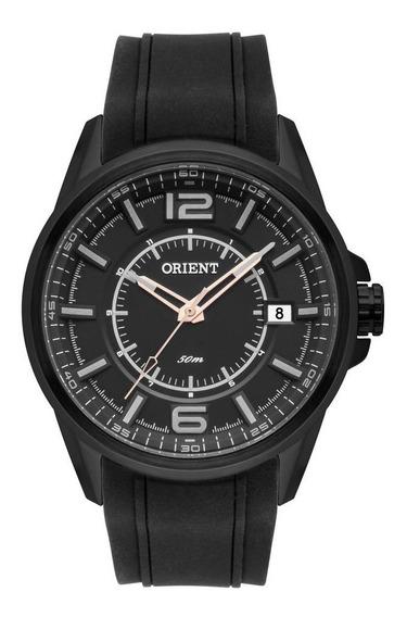 Relógio Orient Masculino Mpsp1011 P2px Preto Aço Analogico