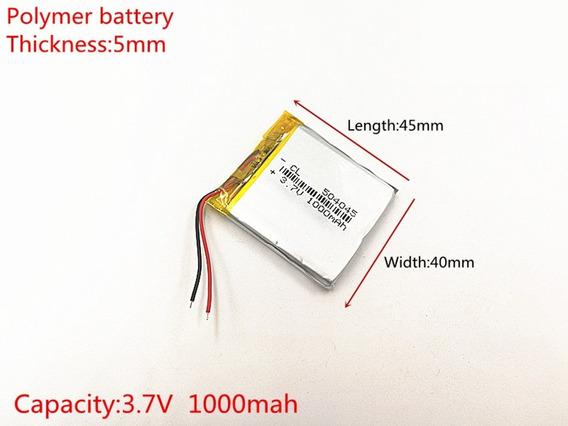 Bateria Para Apontador T430 1000 Mah 3,7v 5mm X 40mm X 45m