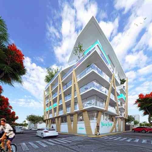 Nuevo Desarrollo De Departamentos En El Centro De Playa Del Carmen