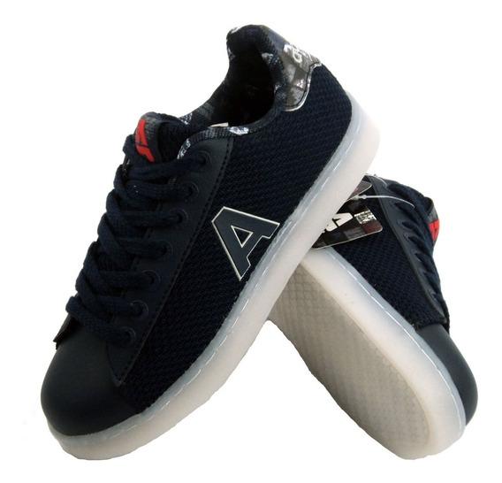 Zapatillas Addnice Led Usb Geometric Niños Lusbgc01 Empo2000