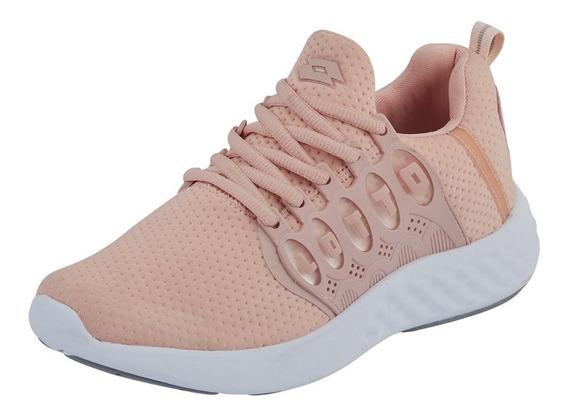 Tenis Sneakers Dama Mujer Deportivo Comodo Lotto Textil Salm