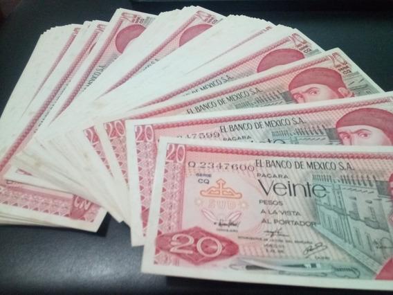 100 Billetes Mexicanos Serie Consecutiva, 20 Pesos Morelos