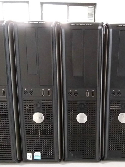 Cpu Computador Dell Optiplex 330 Core 2 Duo 2 Gb