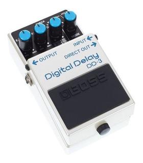 Pedal Efecto Para Guitarra Electrica Boss Dd3 Digital Delay