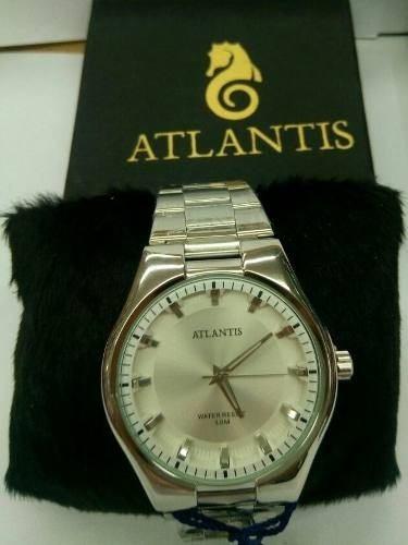 Relogio Unissex Atlantis Resiste A Agua 50m Promocao Orig.