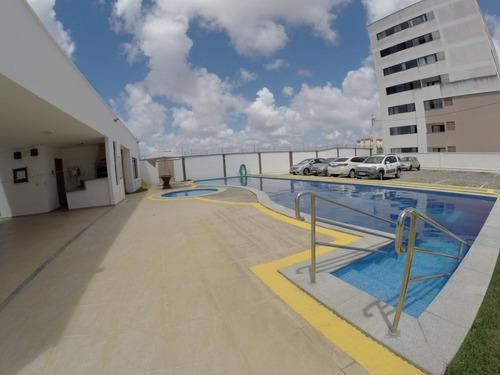 Imagem 1 de 11 de Apartamento Para Venda Em Parnamirim, Parque Das Nações, 2 Dormitórios, 1 Suíte, 2 Banheiros, 1 Vaga - _1-1702891
