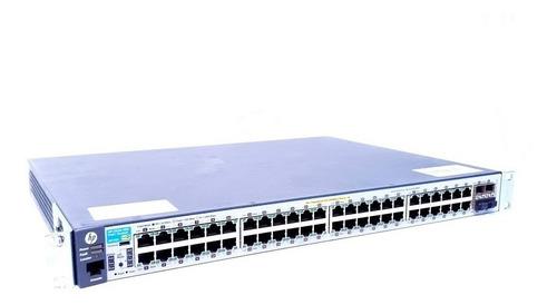 Switch Hp 2530 48g (j9772a) 6 Portas Com Erro: 46/21/23/22/2