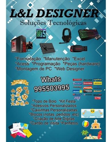 Imagem 1 de 1 de Designer De Artes Digital