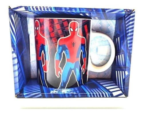 Spiderman Taza Original Cresko Ha601