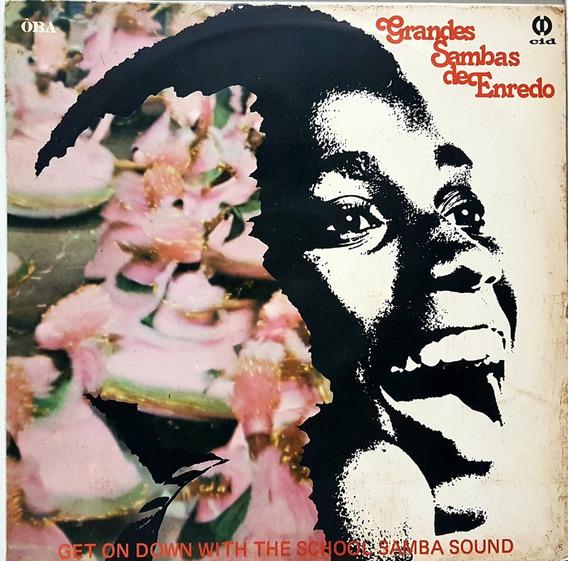 Lp Grandes Sambas De Enredo - Get On Down With The School Sa