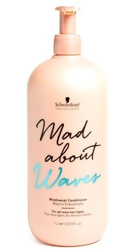 Schwarzkopf Mad About Waves Acondicionador Pelo Ondas 1000ml