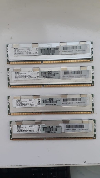 Memória 4gb Hp Ddr3 Smart 500203-261 M393b5170eh1-ch9