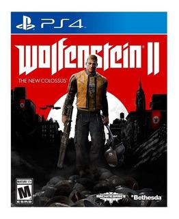 Wolfenstein Ii The New Colossus Ps4 Fisico Nuevo Sellado