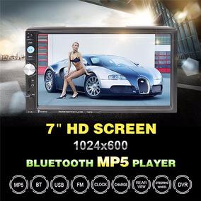 Dvd Automotivo 7 Polegadas 2 Din Com Controle E Camera De Ré