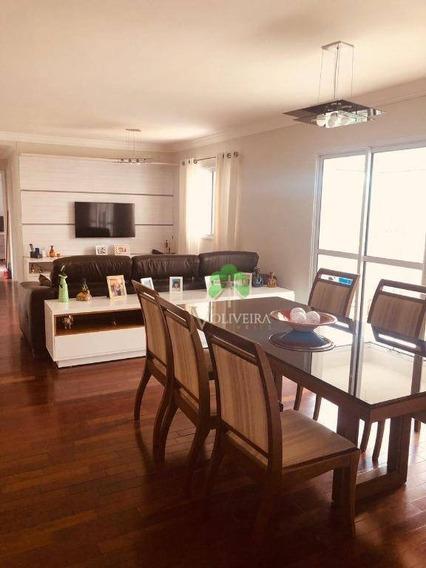 Apartamento Com 3 Dormitórios À Venda, 126 M² Por R$ 760.000,00 - Jardim Wanda - Taboão Da Serra/sp - Ap1091