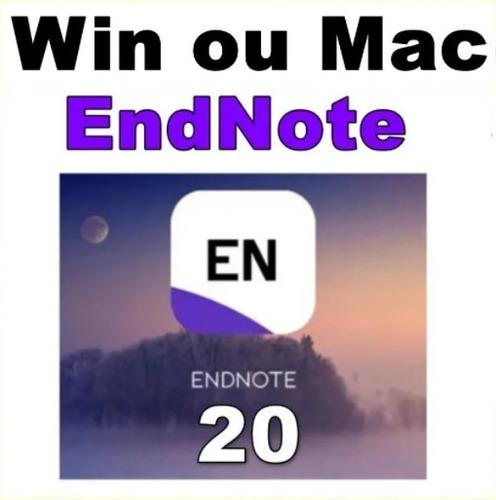 Endnote 20 ( Refêrencias Bibliográficas)