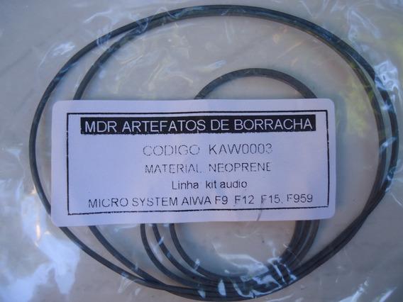 Correia Tape Deck Micro System Aiwa F9 F12 F15 Ou F959