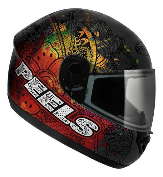 Capacete para moto integral Peels Spike Indie preto S