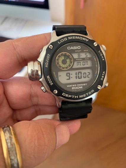Relogio Casio Mod. Dep-510 Muito Raro Em Perfeita Condicoes