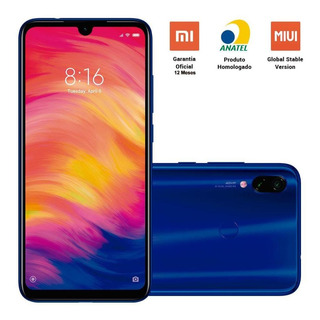 Smartphone Xiaomi Redmi Note 7 64gb 48mp Tela 6.3 Azul