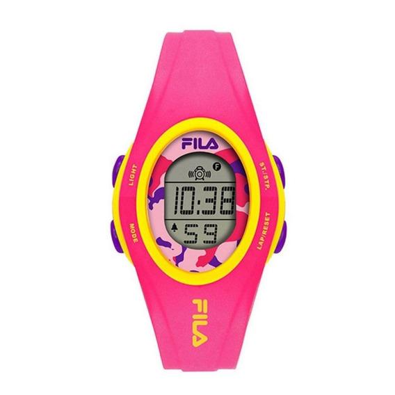 Relógio Feminino Fila Digital Rosa Original