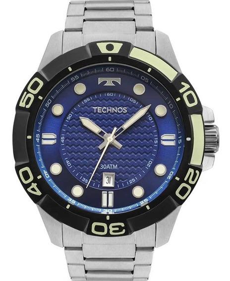 Relógio Technos Masculino Acqua Diver 2315kzq/0a