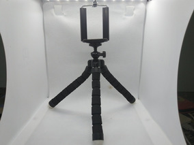 10x Unid Mini Tripé Flexível Para Celular Revenda Atacado