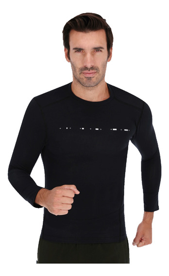 Playera Under Armour Casual Athlete Recovery Compression Neg