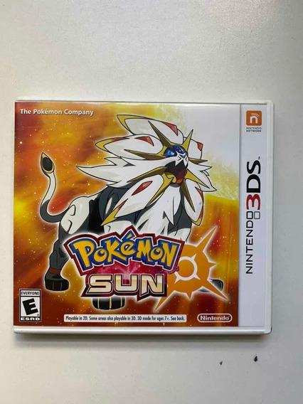 Jogo Nintendo 3ds - Pokemon Sun