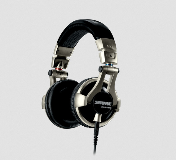 Headphone Para Dj Shure Srh-750dj Fone De Ouvido